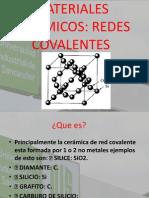 Cerámicas-RedesCovalentes