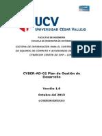 CYBER-AP-02 Plan de Gestión de Desarrollo.docx