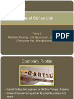 Cartel Coffee Lab Supply Chain Analysis