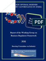 Optimal Business_Regulatory Governance in India_PC_2011