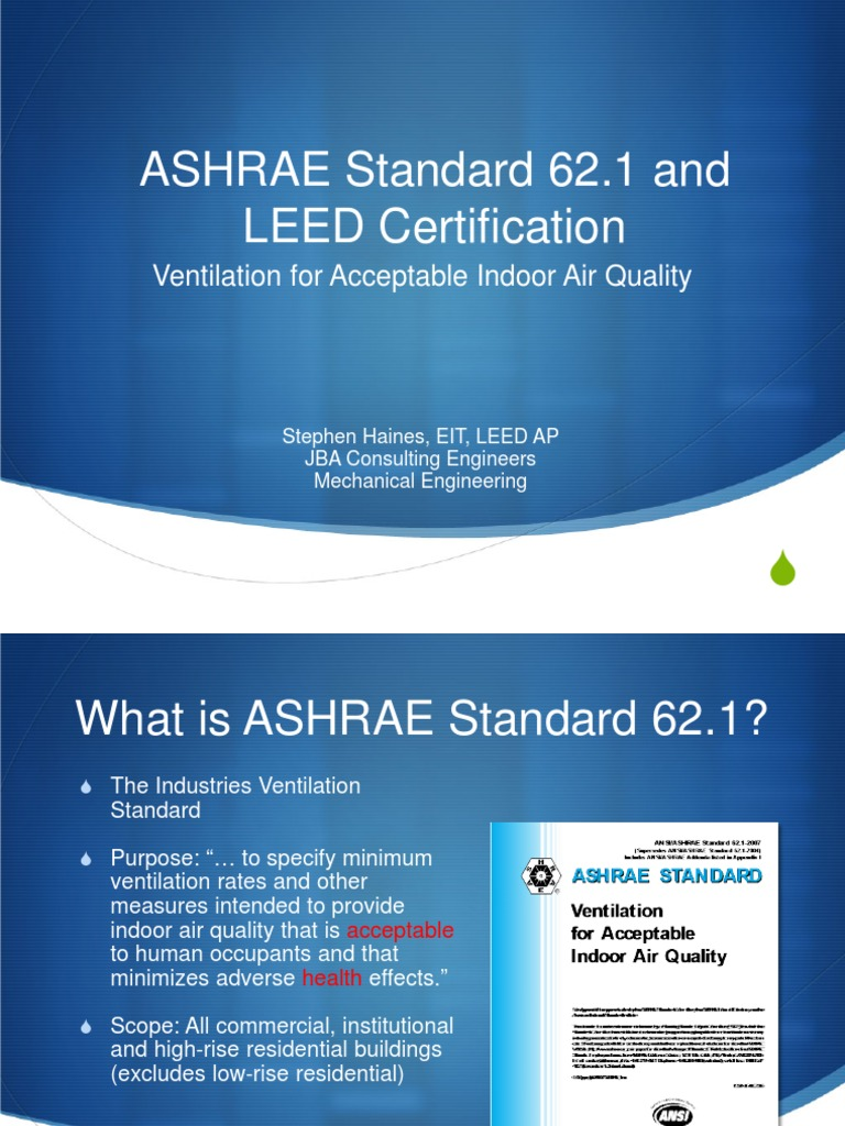 Ashrae standard 62 and leed certification ventilation ashrae standard 62 and leed certification ventilation architecture leadership in energy and environmental design 1betcityfo Choice Image