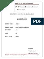 Cs2301Software Engineering 100 2marks