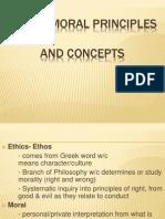 Ethico Moral Principles