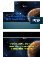 PPT- The Cosmic Effect of the Still Small Voice