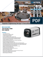 Avtron Optical Zoom Box Camera AM-S210-HD10-PDF