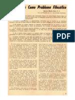 (1966a) La muerte como problema filosófico