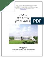 Cse Bulletin