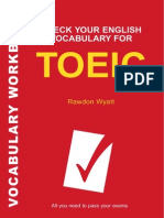 Check Your Vocabulary for the Toeic BEC