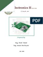 Electronic II Lab Manual