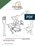 Polo Grill Kids Menu