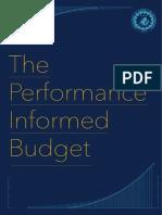 Performance Informed Budgeting - Brochure
