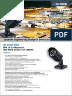 Avtron Full HD Vari Focal IR Bullet IP Camera Am s2064 Vmr3 PDF