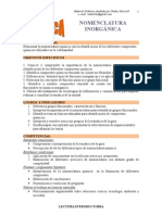 QUIMICA INORGANICA_nomenclatura