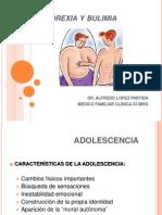 Platica Adolescentes Anorexia y Bulimia