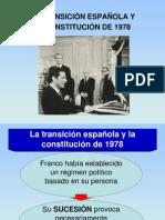 La Transicion Espanola y La Constitucion de 1978