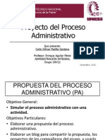Proceso Administrativo General PAG