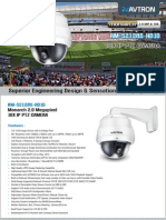 Avtron IP PTZ Camera AM-S2128S-HD10-PDF