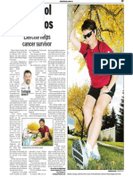 Colleen De Roy, Keeping Fit, Sun Media (Oct. 2, 2006)
