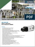 Avtron OXGA BOX Mount IP Camera AM-S3018-NM-PDF
