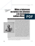 Mitos e Intereses Jovenes Messenger