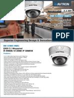 Avtron Oxga IR vandal vari focal Dome IP Camera Am s3066 Vmr1 PDF