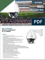 Avtron IP PTZ Camera AM-SC1398-HD18