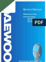 Daewoo Microwave OvenSMKOC970T&980T