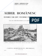 Ion Rusu Abrudeanu - Aurul Romanesc