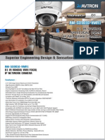 Avtron IR Vandal Varifocal Dome IP Network Camera Am Sd9016 Vmr1 PDF