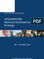 Afghanistan National Development Strategy