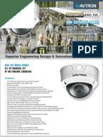 Avtron IR Vandal Varifocal IP Network Camera Am Sd9066 Vmr1
