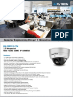 Avtron Vari Focal Dome IP Camera Am Sm1316 Vm PDF