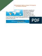 II Conferência Internacional sobre a Língua Portuguesa no Sistema Mundial