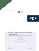 Light Refraction and Lenses