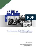 Survey Civil Society Forum ENG