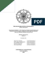 Latar Belakang PKM-GT Sampah Print