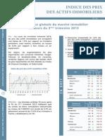 Indice T3 2013 des prix des actifs immobiliers vu par Bank Al-Maghrib - www.metrecarre.ma