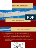 Database Concepts Data Warehousing