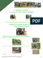 Iowa Farm Equipment -- Loftness 3-Point Mulchers_Tree & Brush Cutters