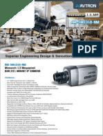 Avton Box Mount IP Camera Am Sm1318 Nm PDF
