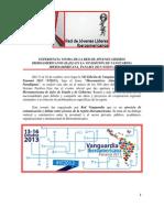 EXPERIENCIA VIVIDA DE LA RED DE JÓVENES LÍDERES IBEROAMERICANOS (R-JLI) EN LA VII EDICIÓN DE VANGUARDIA IBEROAMERICANA, PANAMÁ 2013 (VI2013).