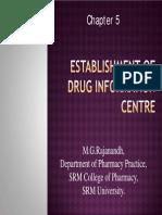 Establishment of Drug Information Centre