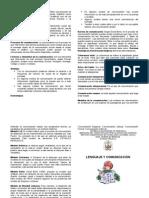 DIPTICO LENGUAJE Y COMUNICACIÓN - copia