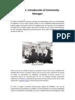 Leccion 1. Introduccion Al Community Manager