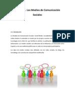 Leccion 2. Los Medios de Comunicacion Sociales