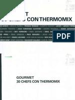 85.- Gourmet 30 Chefs Con La Thermomix 2013