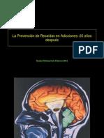 La Prevención de Recaídas en Adicciones2
