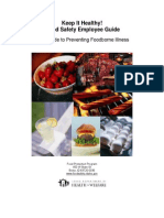 Employees Guide to Food Safety