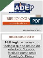 Bibliologia - Aula 03