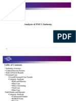 Analysis of FMCG Industry 2013-14
